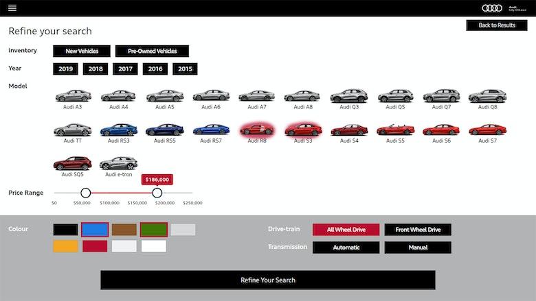 Audi inventory 2
