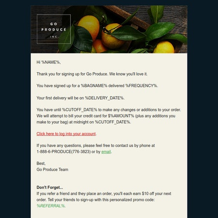Goproduce email 1
