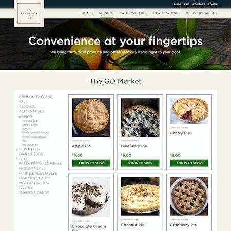 Goproduce portal 2