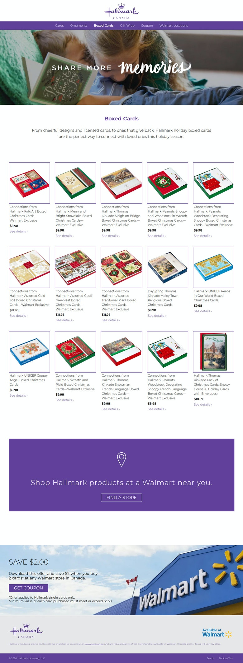 Christmas Promo Microsite